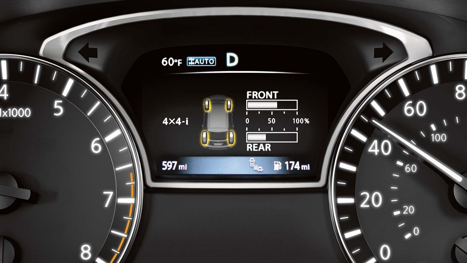 Nissan Pathfinder Advanced Drive-Assist Display