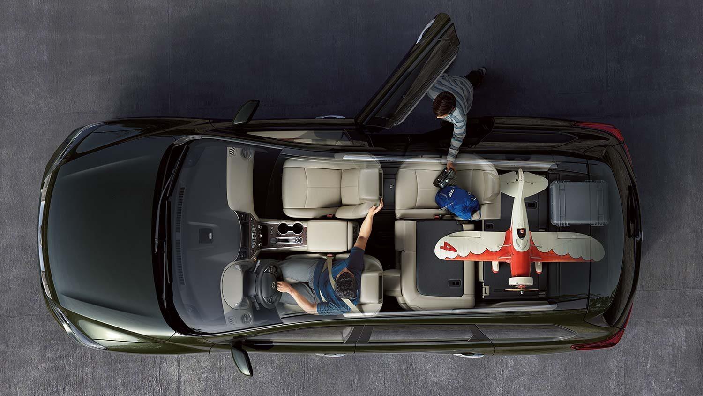 Nissan Pathfinder Features 4x4 Suv