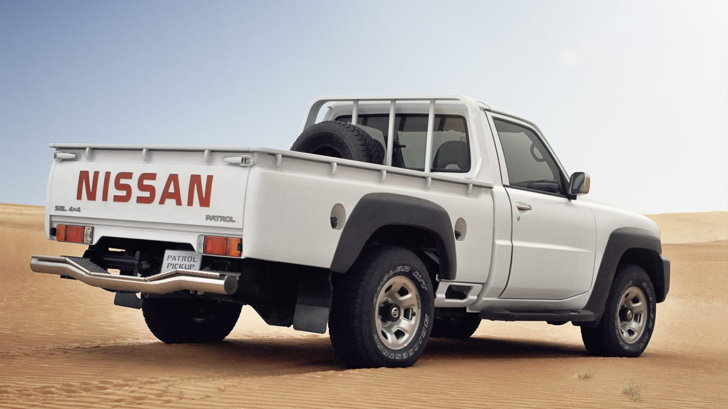 nissan patrol pick up off road 4x4 commercial truck nissan kuwait. Black Bedroom Furniture Sets. Home Design Ideas