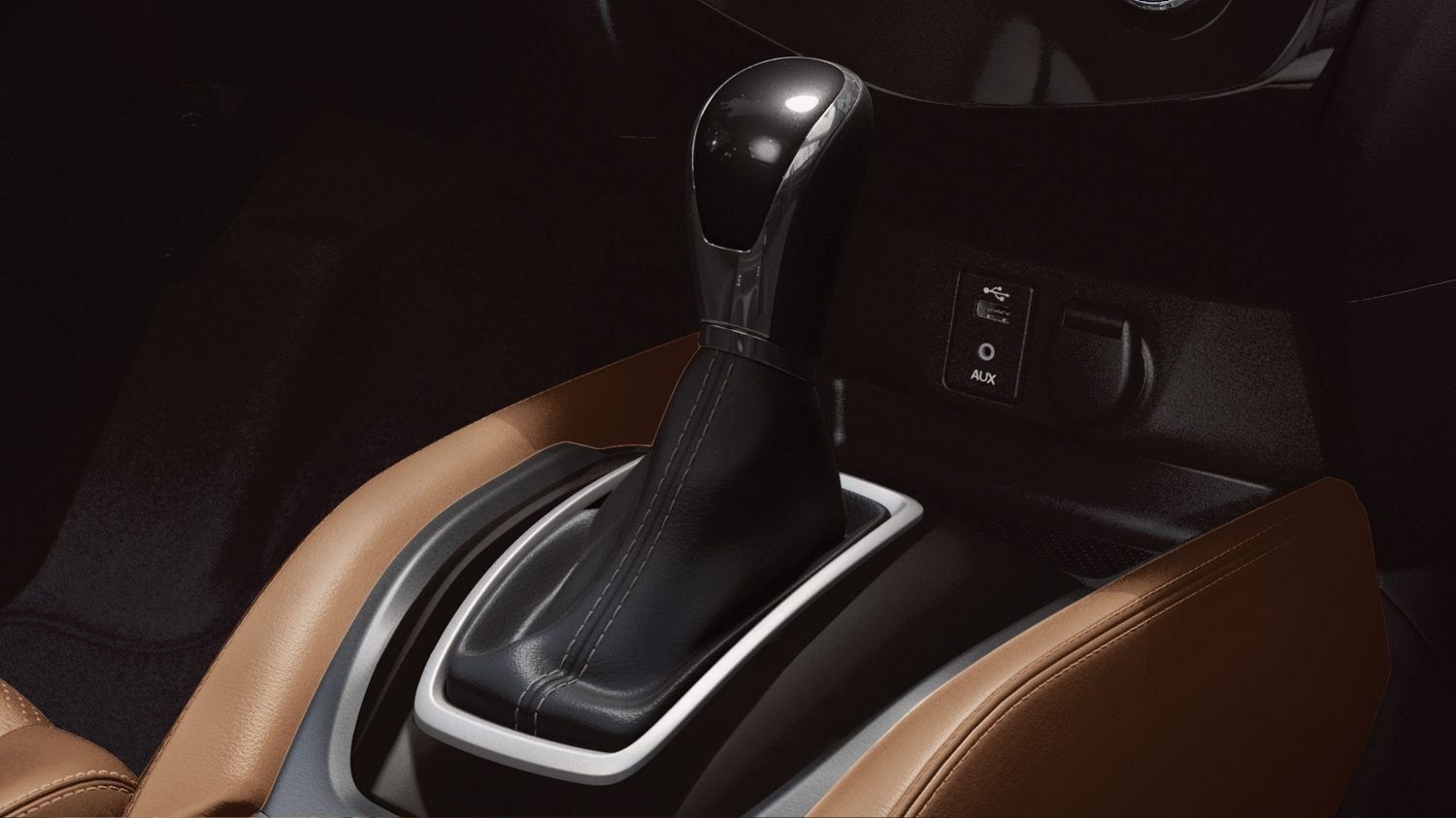 2018 NISSAN X-TRAIL tan interior gear stick