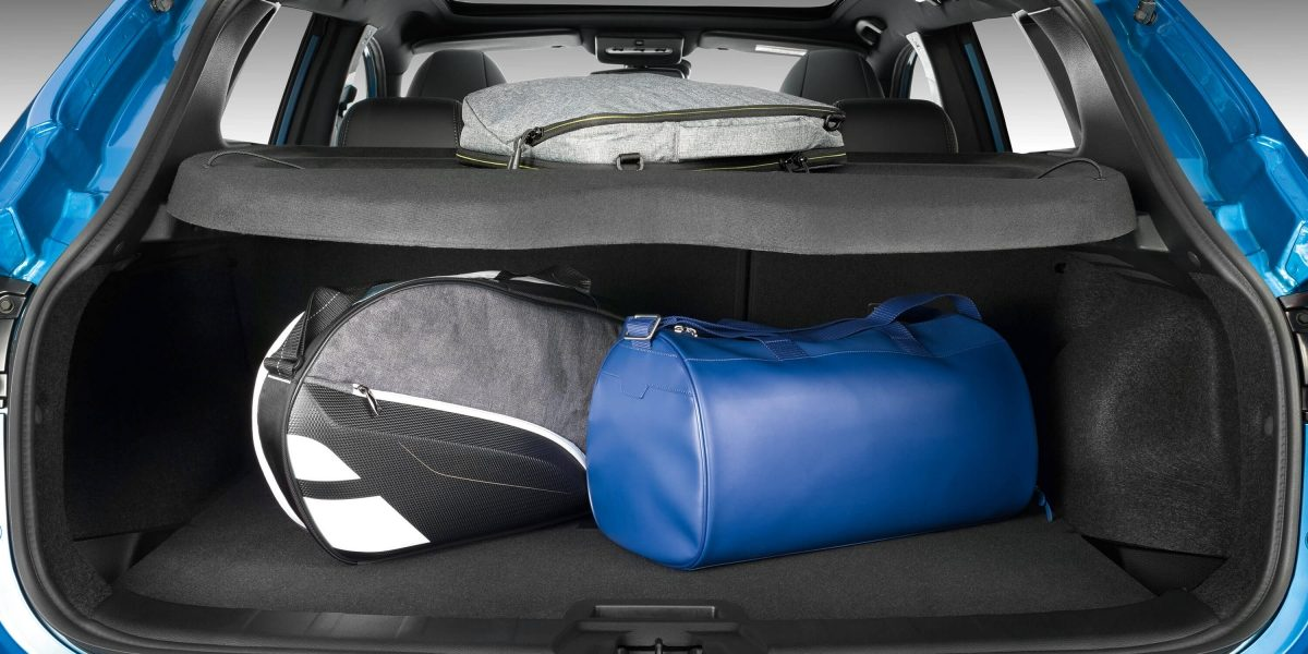 Qashqai trunk configuration open space
