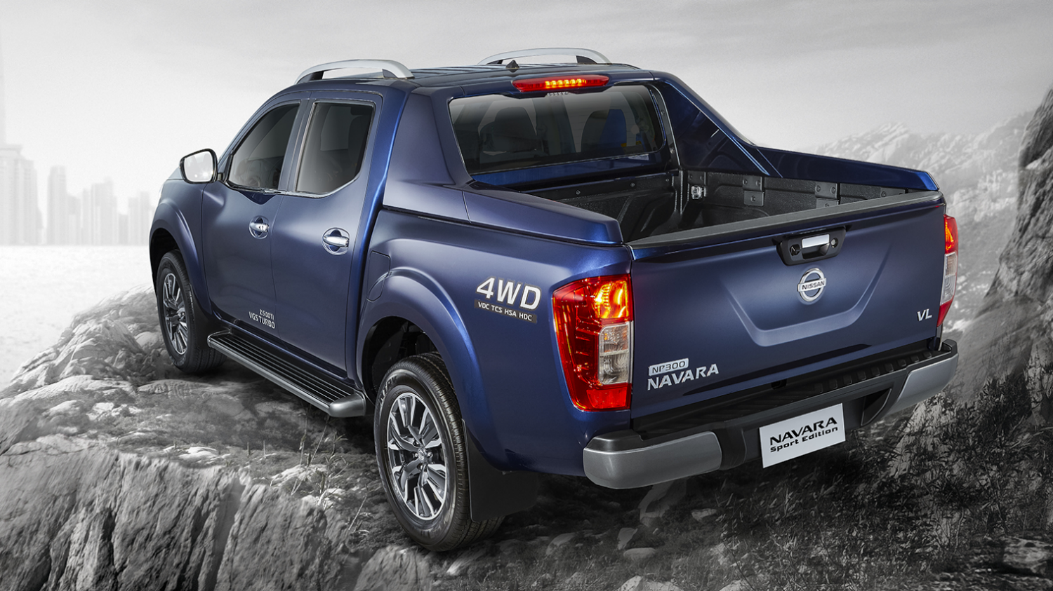 navara sport edition rear