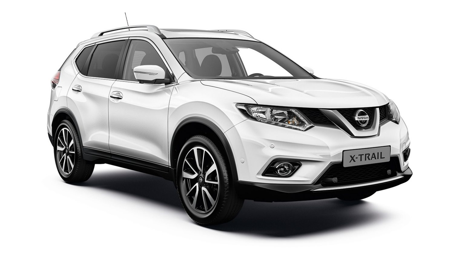 Nissan X-Trail Tekna - 3/4 front view