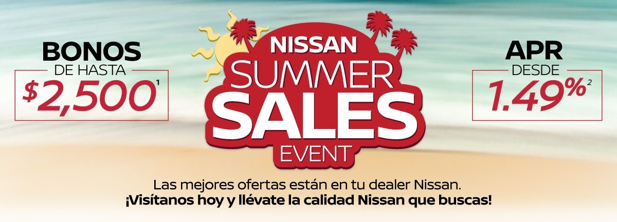 NISSAN SUMMER SALES EVENT