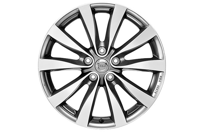 Nissan Pathfinder - 18'' alloy wheel - Diamond cut Dark Grey