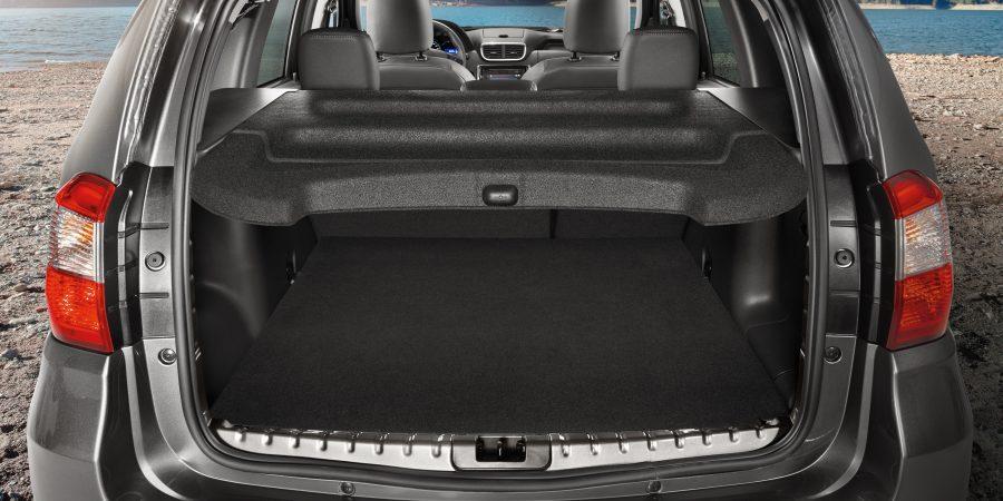 Багажник с крышкой Tonneau, вид сзади