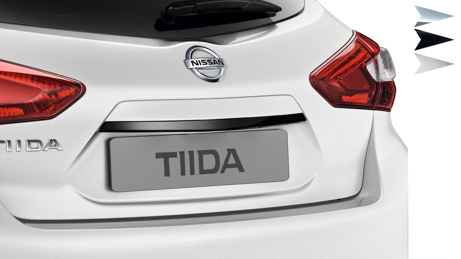 Nissan Tiida - Trunk handle
