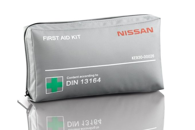 Nissan Almera - Safety - First aid kit (hard box)