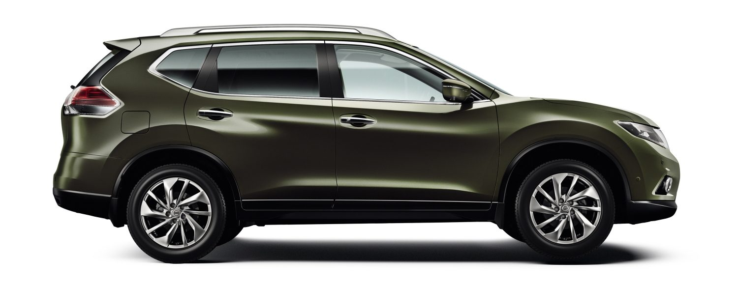 Nissan&#x20&#x3b;X-Trail&#x20&#x3b;-&#x20&#x3b;Sideview