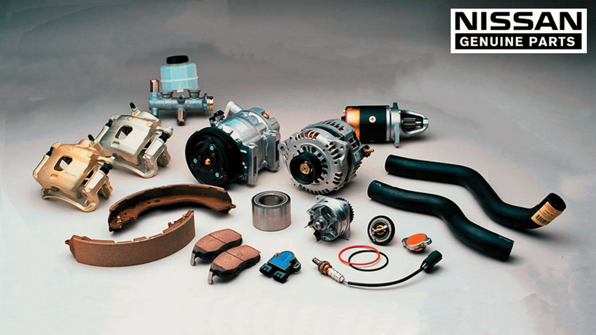Nissan genuine parts precision reliability and performance
