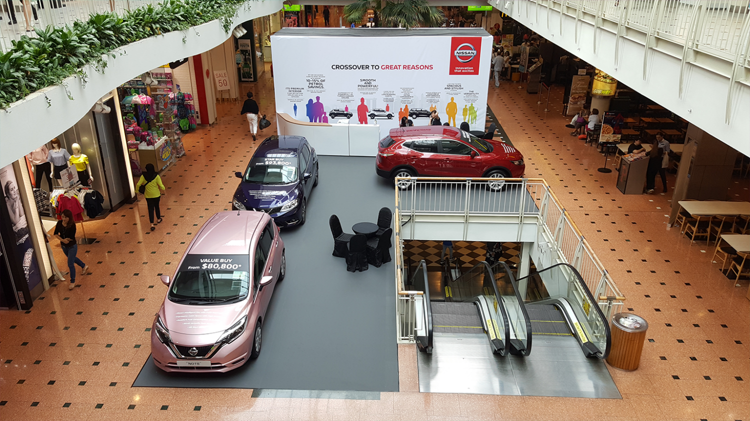 Nissan Roadshow at Jurong Point