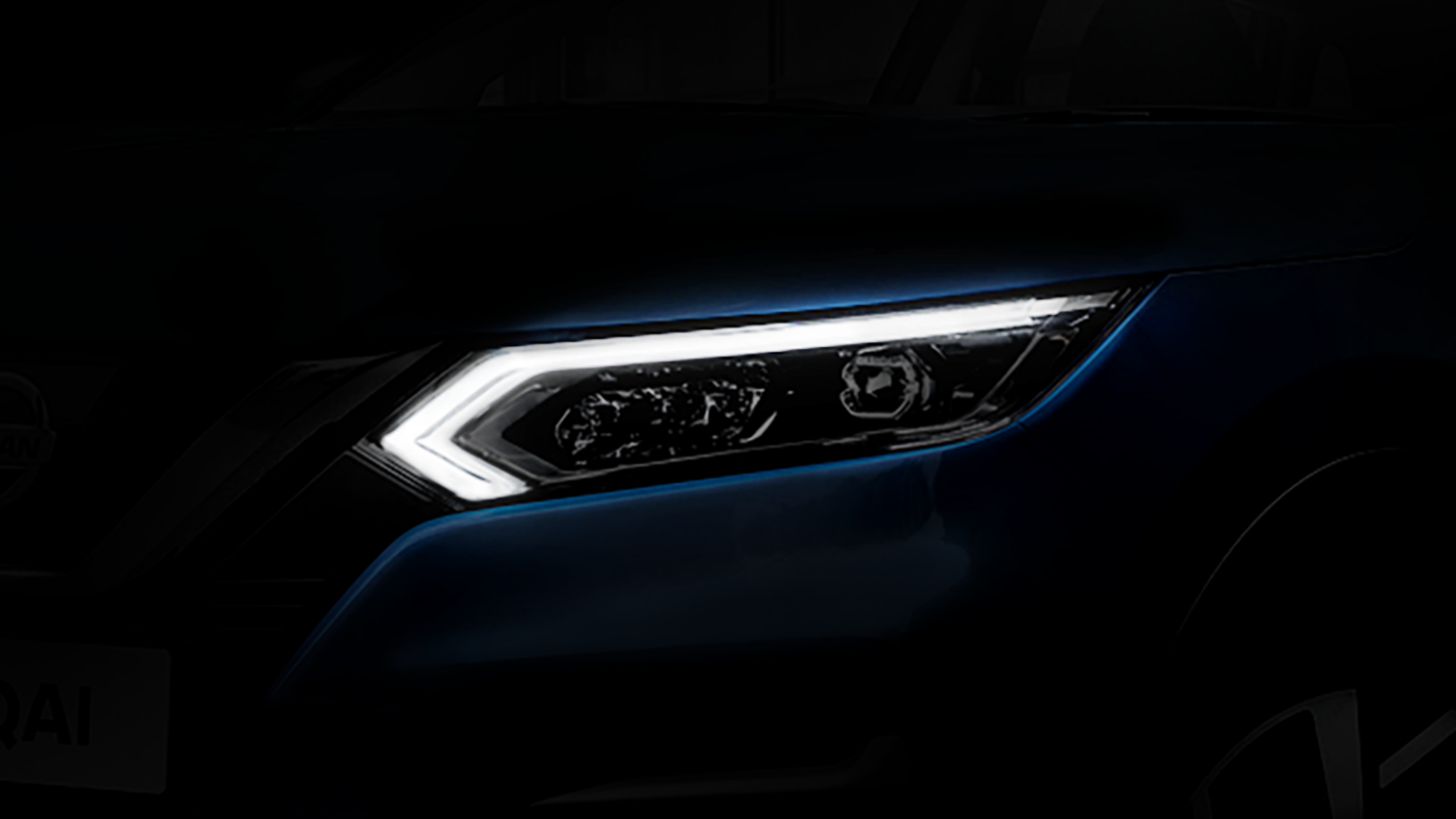 New Nissan Qashqai teaser with stunning looks