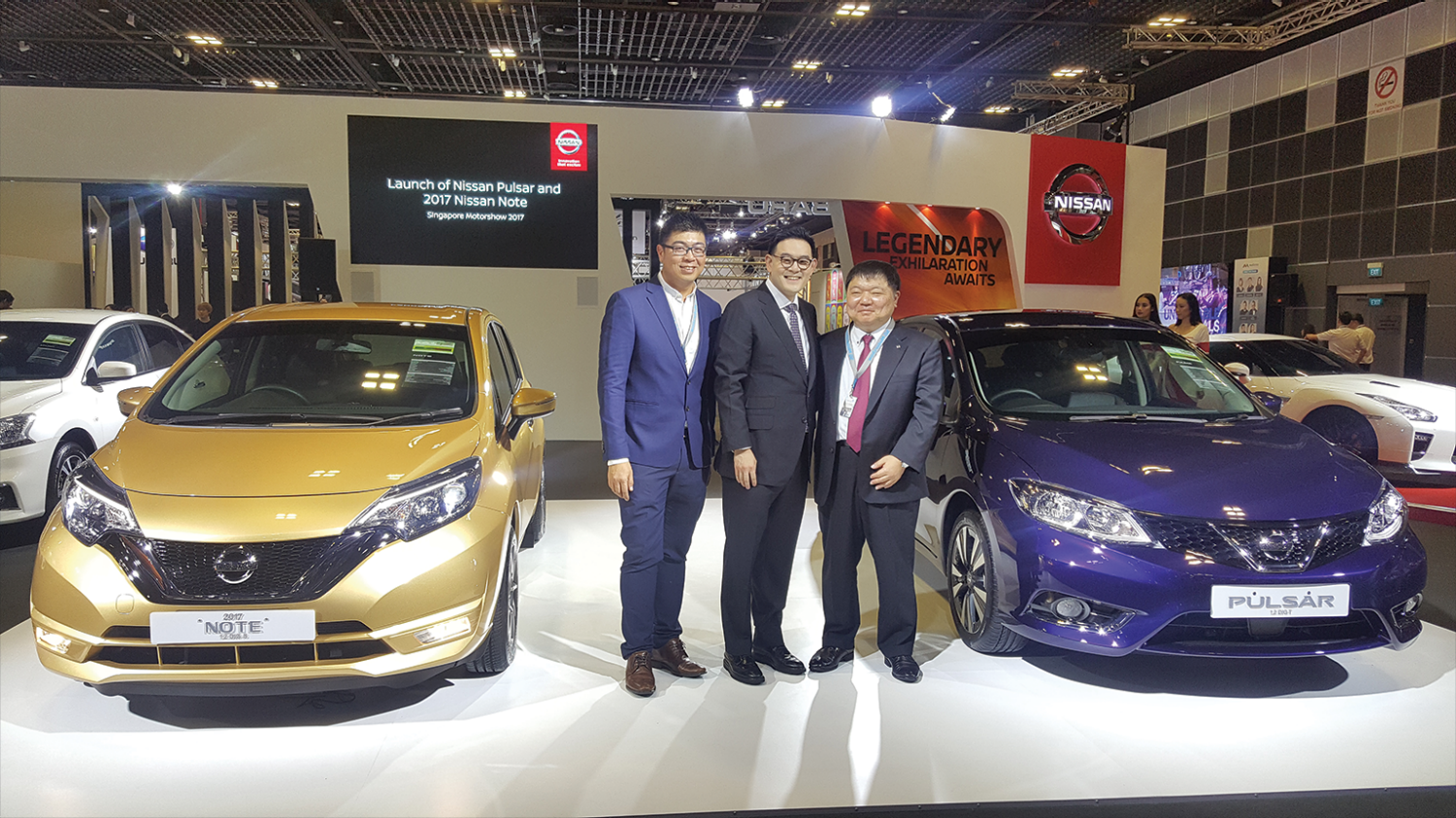 NISSAN LAUNCHES ALL-NEW PULSAR AND NOTE MODELS AT THE SINGAPORE MOTORSHOW 2017