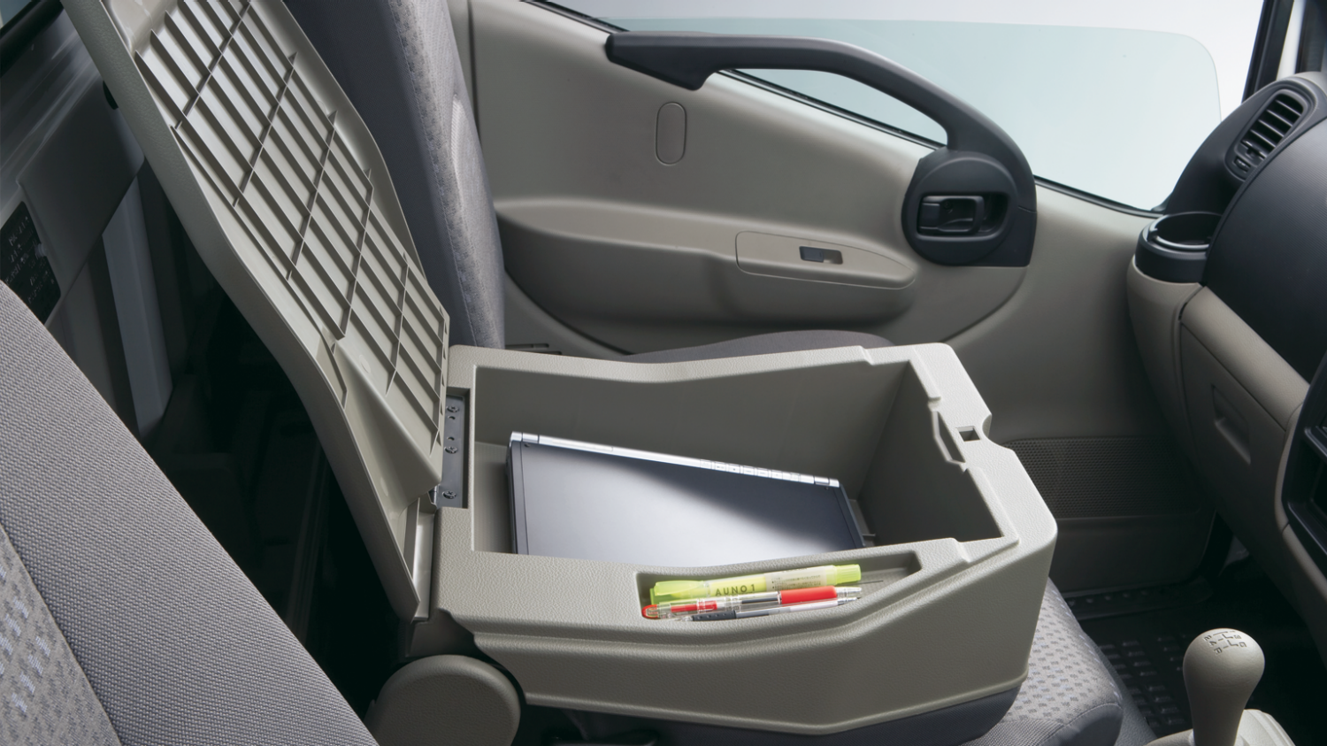 Centre Seatback Console Storage
