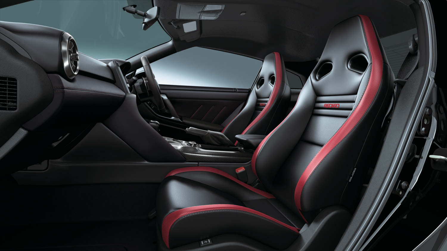 Nissan GT-R interior filled with premium details
