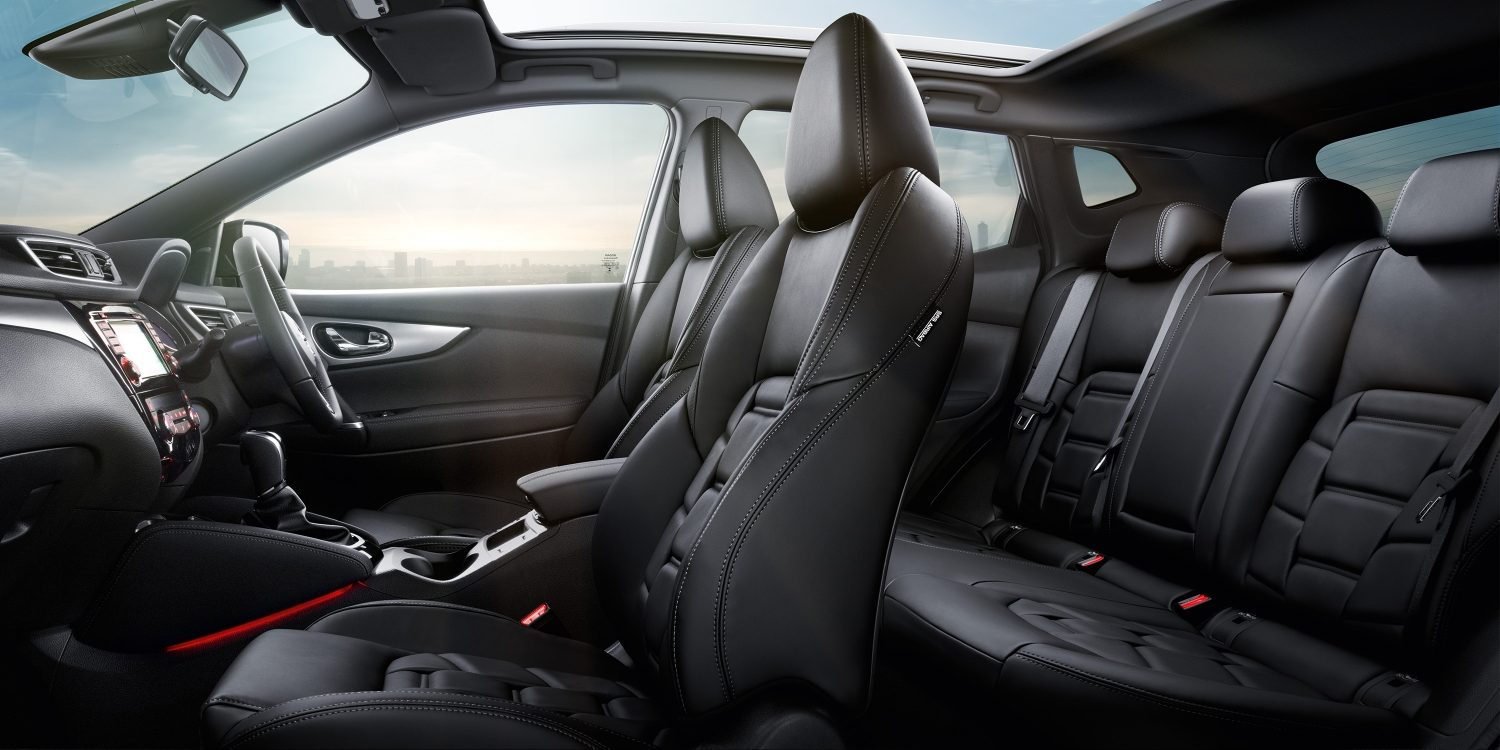 New Qashqai interior nappa leather