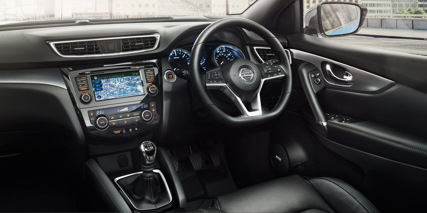 Design for Interior nissan qashqai