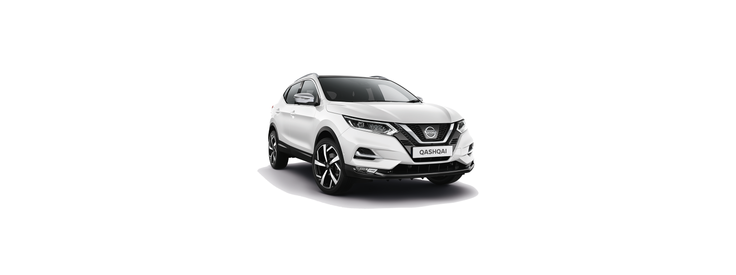 New 2018 Qashqai in Artic White