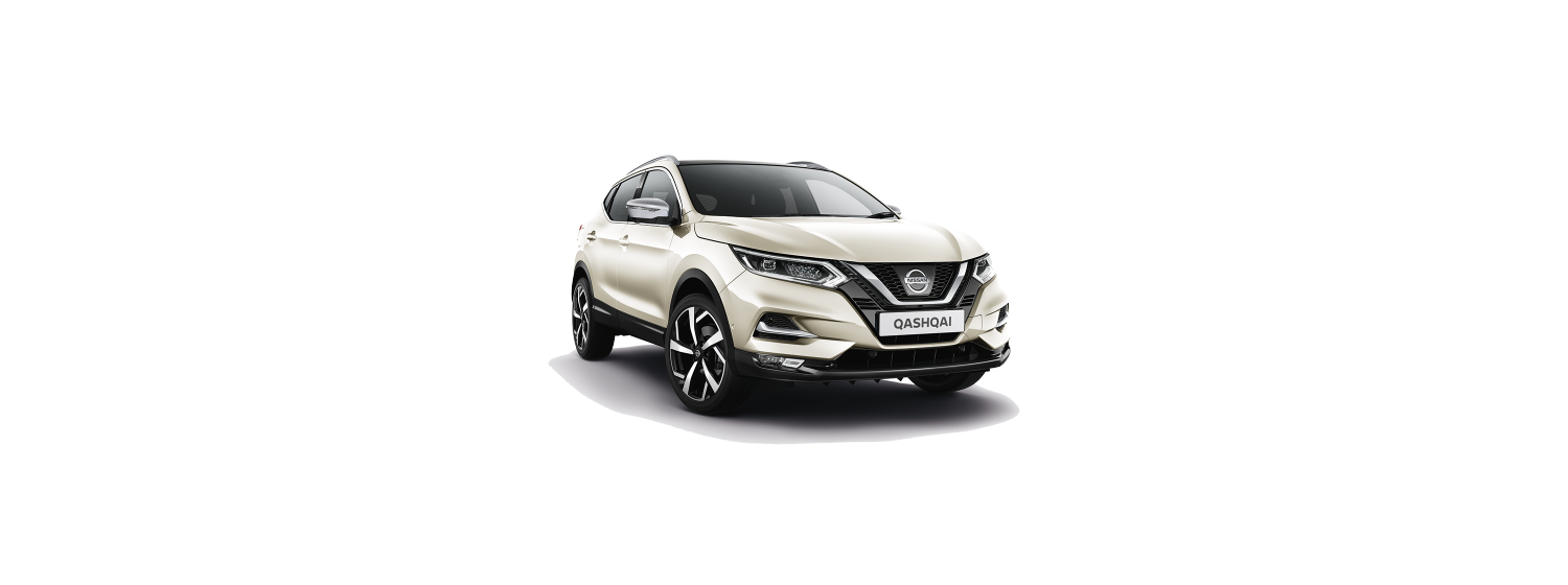 New 2018 Qashqai in Brilliant White Pearl