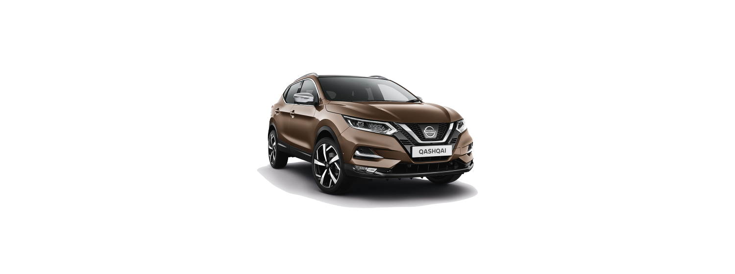 New 2018 Qashqai in Chestnut Bronze