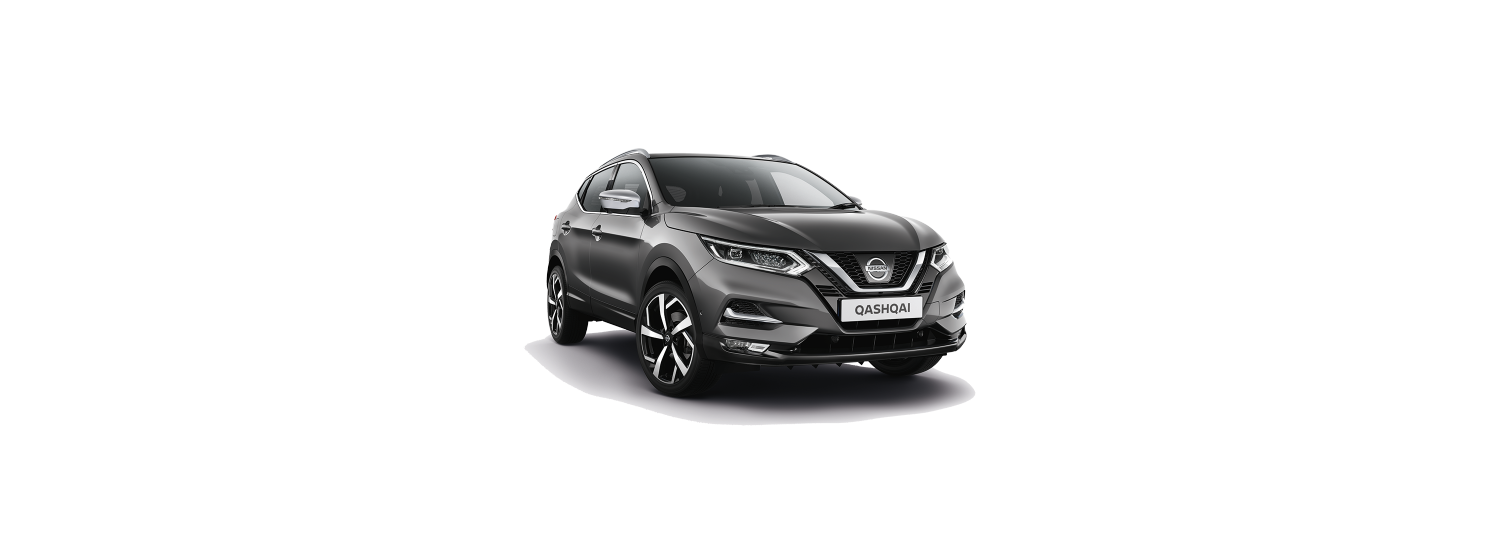 New 2018 Qashqai in Dark Metal Gray