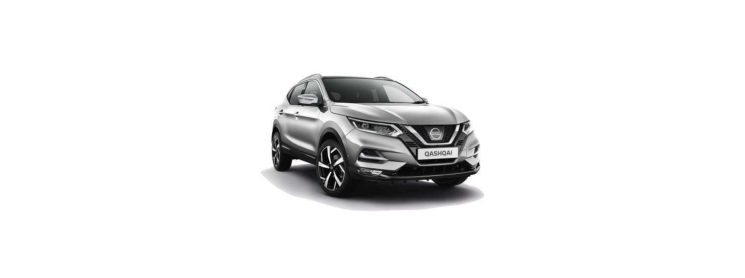 New 2018 Qashqai in Diamond Silver Metallic