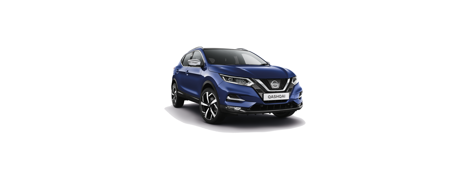 New 2018 Qashqai in Ink Blue