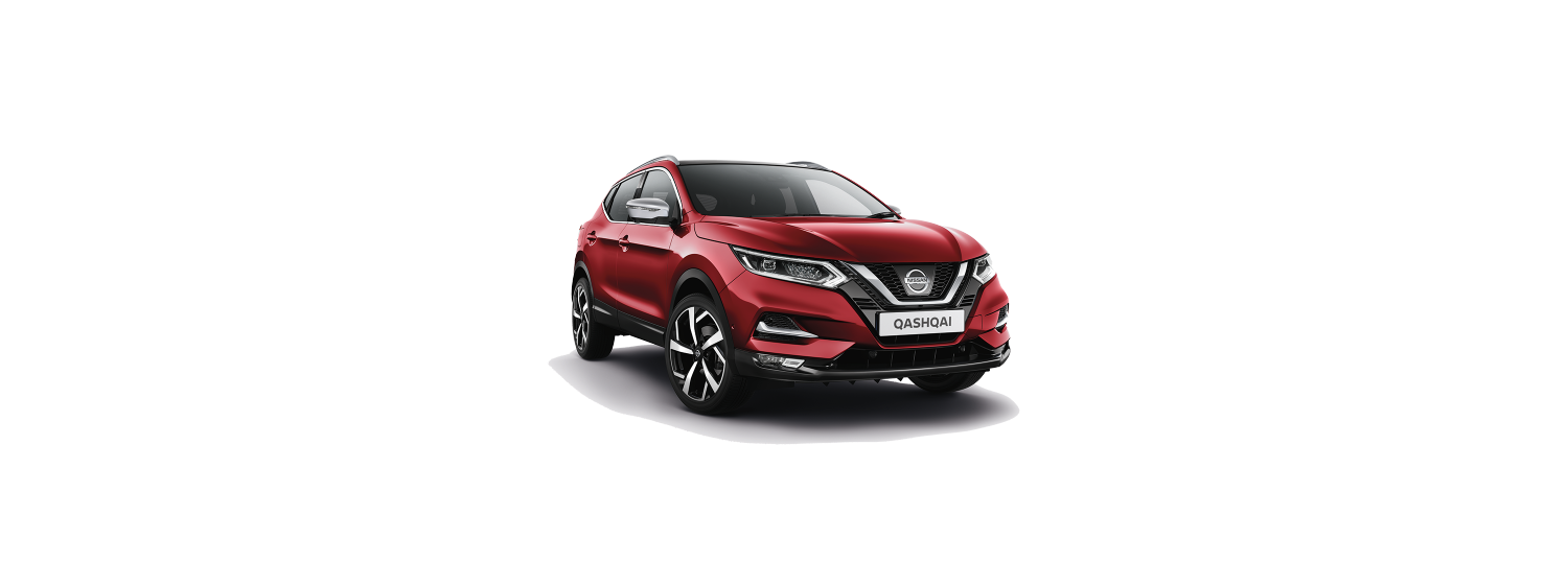 New 2018 Qashqai in Magnetic Red