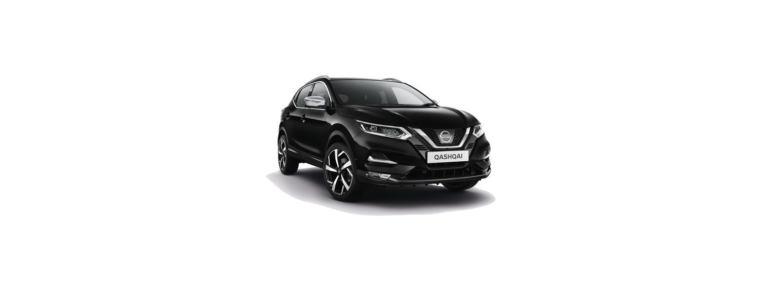 New 2018 Qashqai in Metallic Black