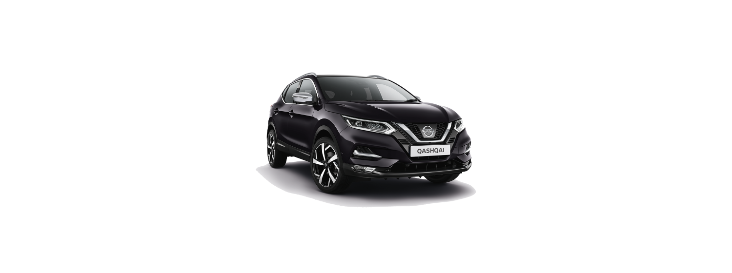 New 2018 Qashqai in Night Shade