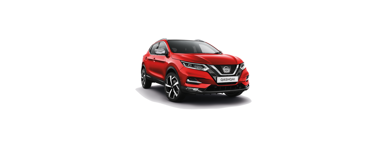 New 2018 Qashqai in Solid Red