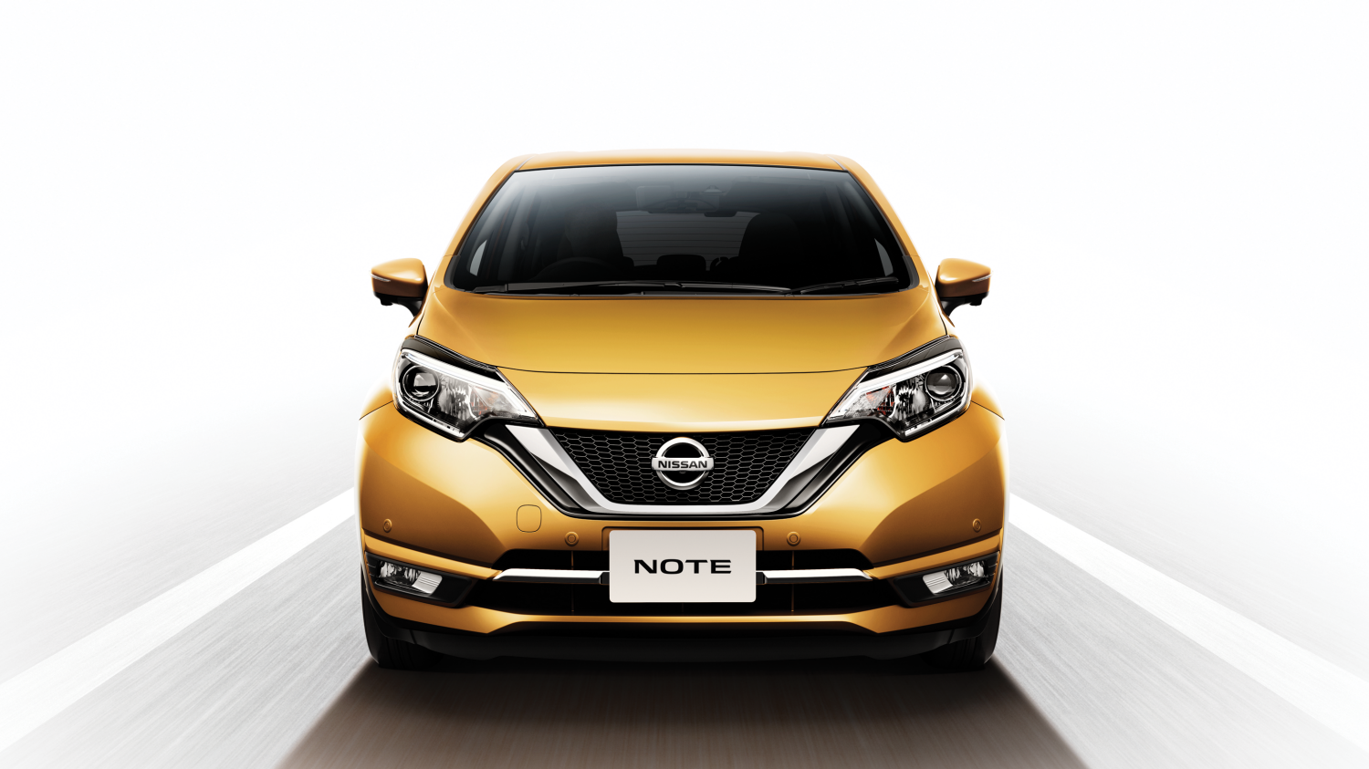 The New 2017 Note - Front Profile
