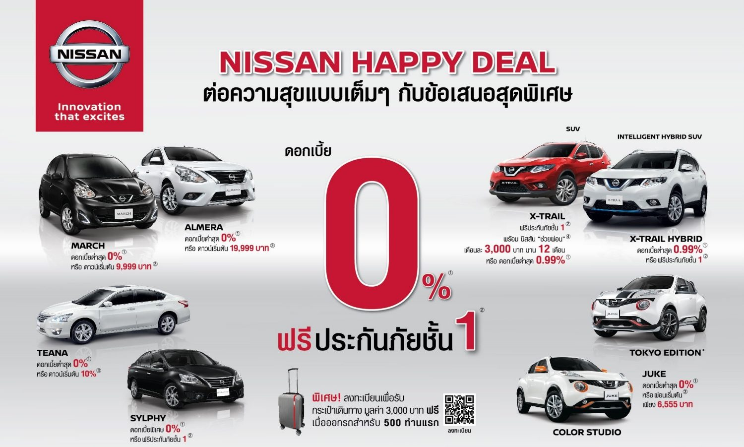 ์Nissan Happy Deal