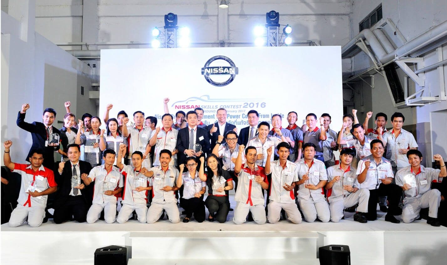 the winners of nissan skills contest 2016