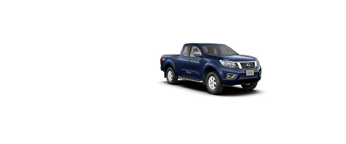 Navara King Cab Dark Blue