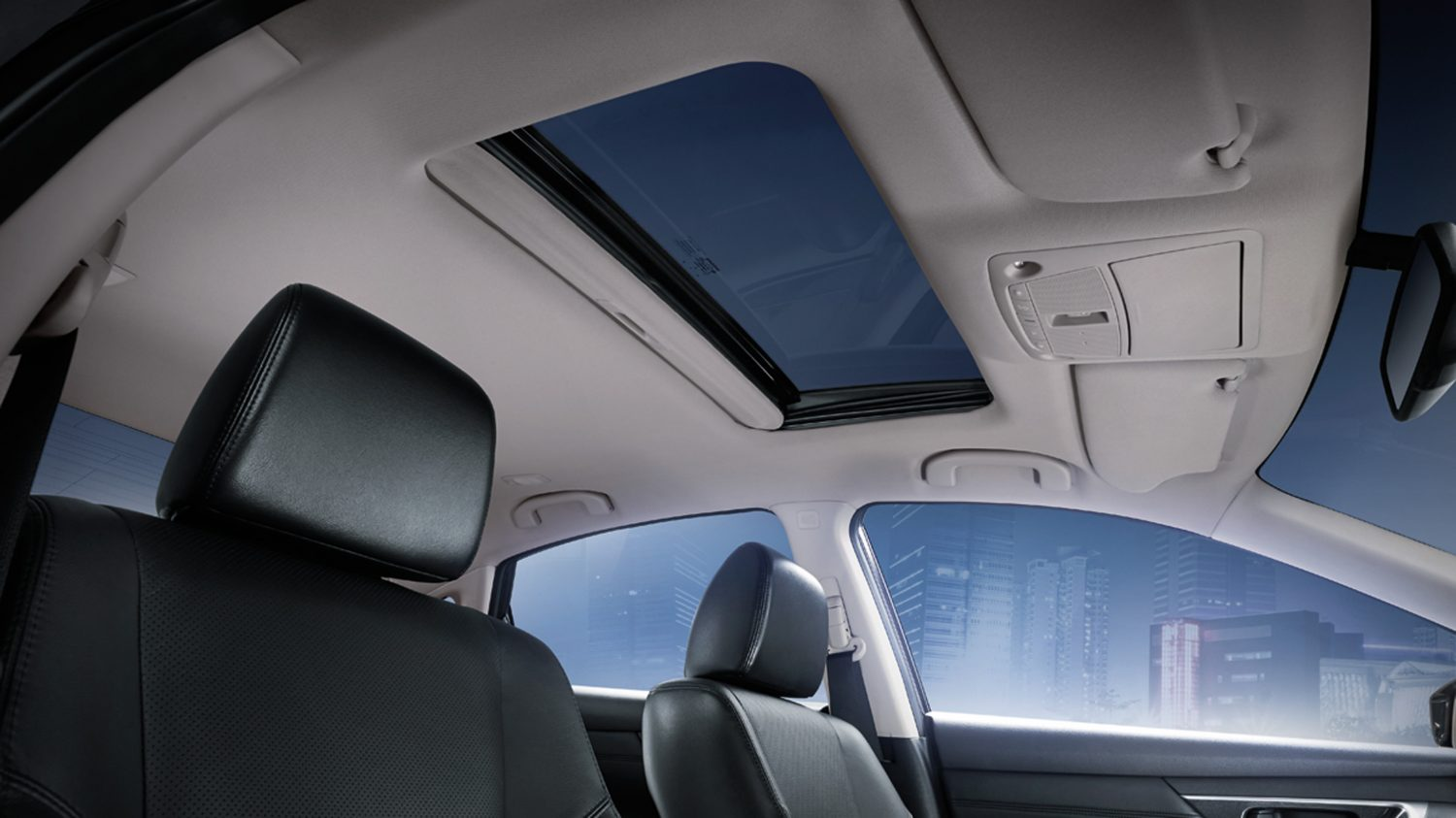 ELECTRIC ADJUSTABLE SUNROOF