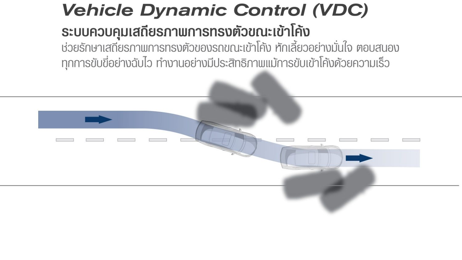 Vehicle Dynamics Control (VDC)