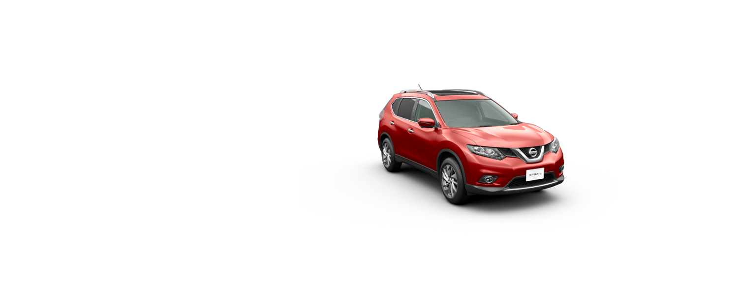 x-trail red