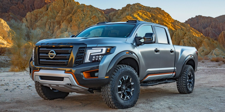 nissan titan warrior concept truck nissan usa. Black Bedroom Furniture Sets. Home Design Ideas