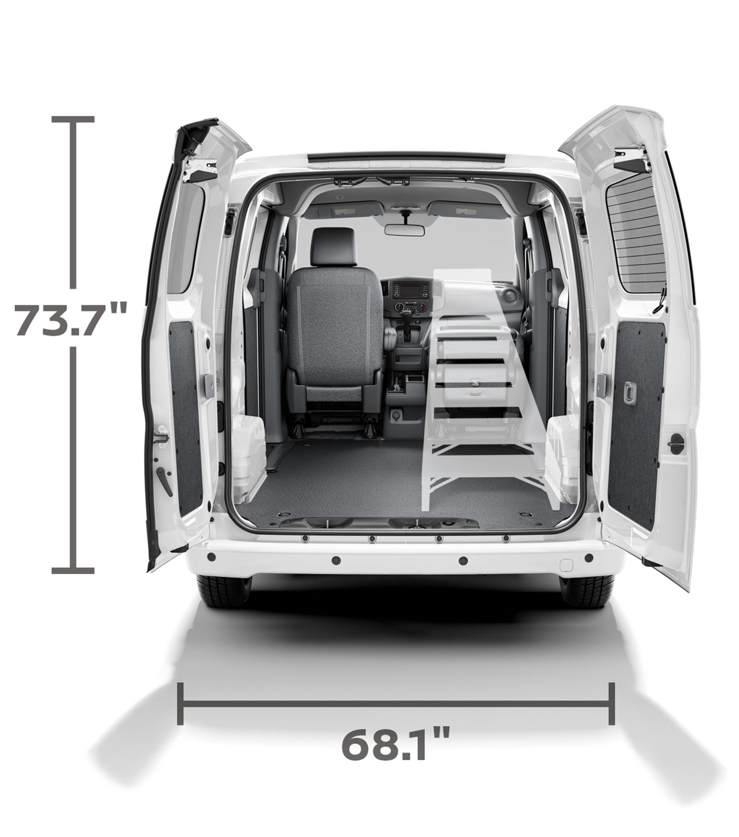 nissan nv200 interior dimensions images galleries with a bite. Black Bedroom Furniture Sets. Home Design Ideas