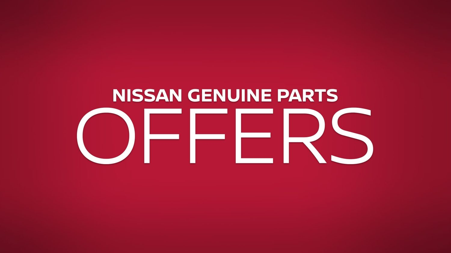 Genuine parts offers