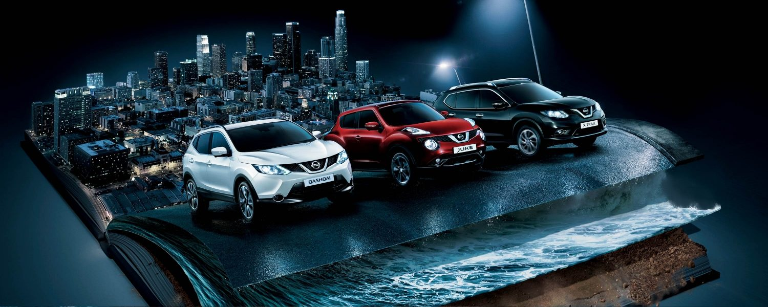 Nissan Crossover Range - Built To Adapt