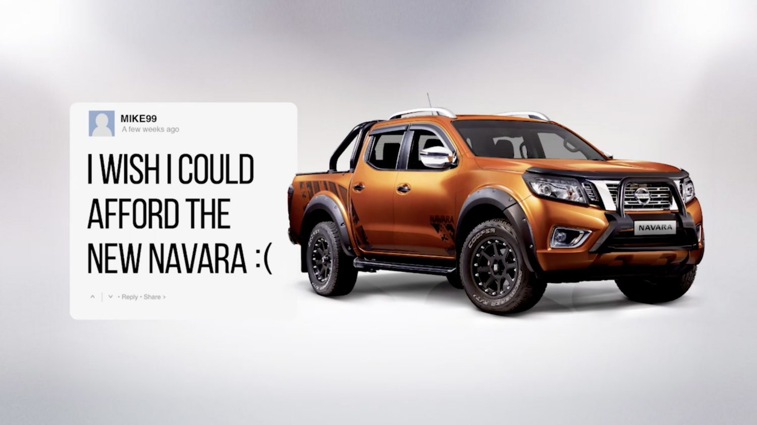 I wish I could afford the New Navara :(