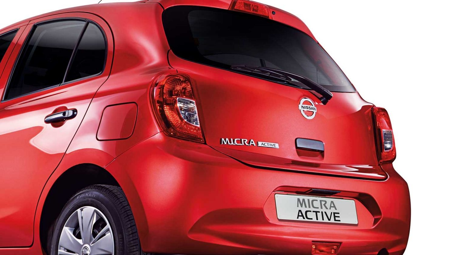 MICRA ACTIVE tailgate