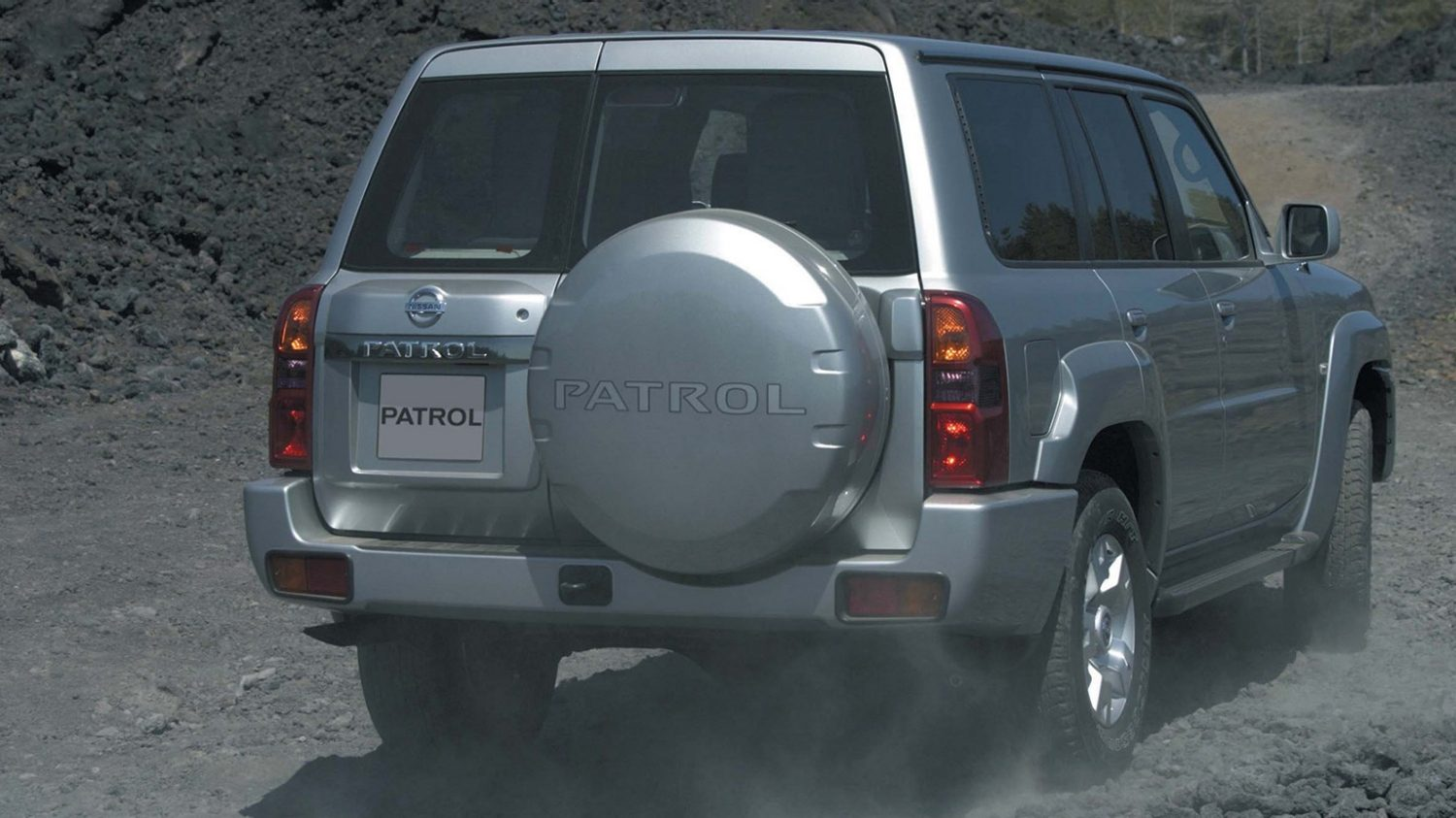 Nissan Patrol Rear View