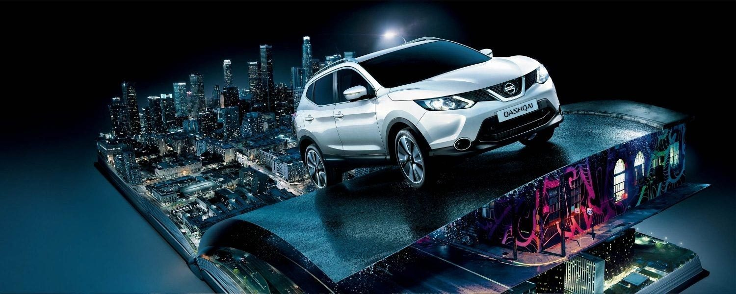 Nissan Qashqai - The Ultimate Urban Experience